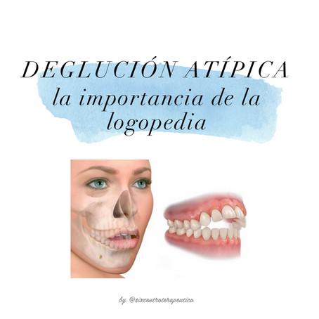 Deglución atípica, odontología y logopedia