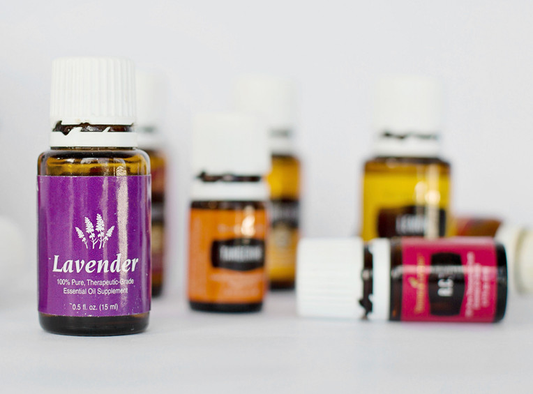 Essential oils are the foundation