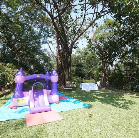 Bouncy castle kids party