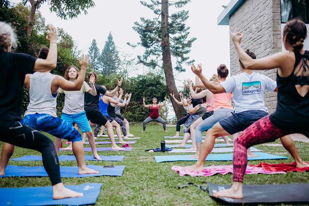 Hundy Abundy Yoga Retreat