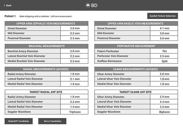 iPad - ARTS 2.0 - Case Selection - Defau