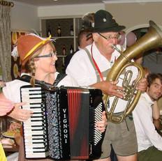 German Oompah wedding party