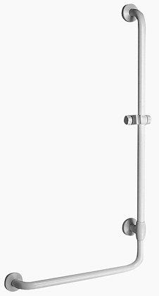Winkelgriff L-Form mit Brausehalter Serie Maxima G40JOR01, rechteAusführung