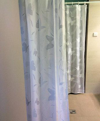 Duschvorhang Butterfly Weiß DEUPAPWE