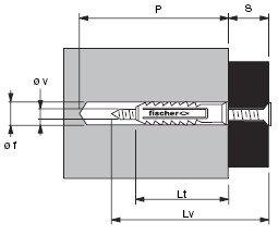 Befestigungsmaterial DEUBEF840