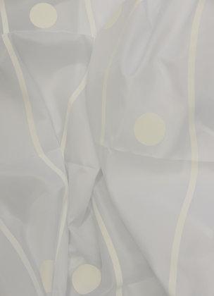 Duschvorhnag Drops Weiß/Weiß DEUDRO1013