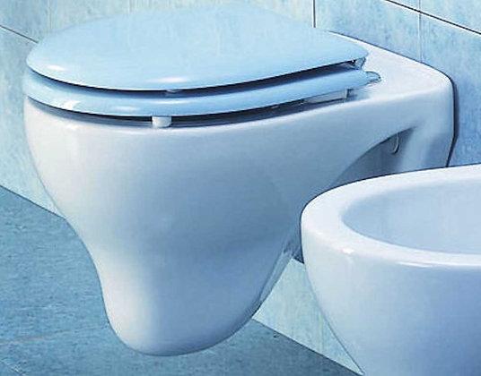 Kinder WC-Sitz aus Holz Hellblau B41DES01B2
