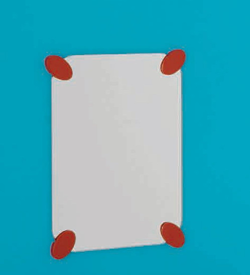kinderspiegel f44ats01 serie bagno cuccioloar aus sicherheitsglas 5 mm viereckig 280 x 400 option spiegelhalterung polyamid auto