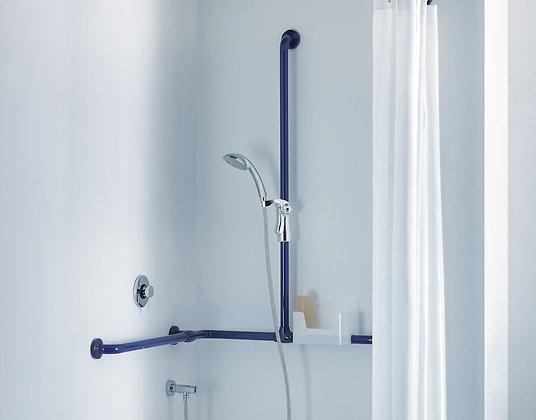Duschhandlauf Deu-Waves mit Brausestange und Brausehalter G27JOS05