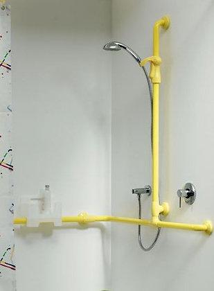 Duschhandlauf Deu-Waves mit Brausestange und Brausehalter G27JOS08