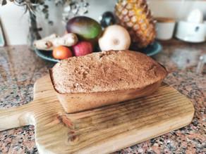 Pão de Banana Saudável & sem Farinha