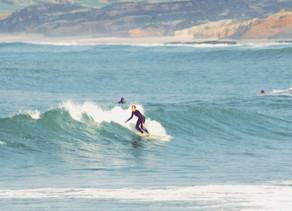 Duas das minhas paixões: Baleal & Surf