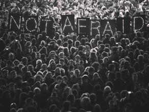 #notaffraid #peaceforparis