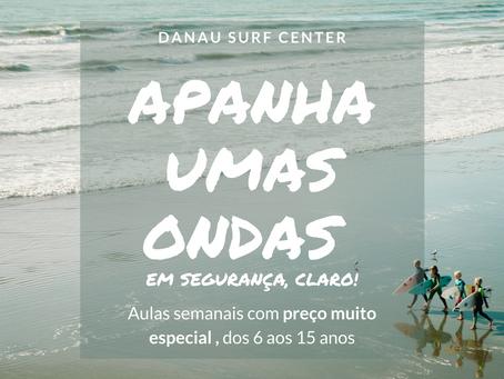 PROMO | Aulas de SURF semanais dos 6-15 anos