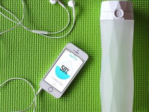 HidrateMe – A garrafa que o lembra quando deve beber água