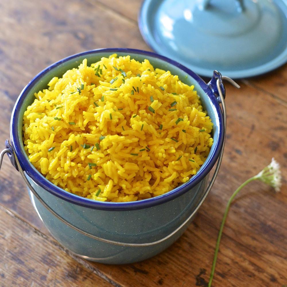easy yellow rice 1