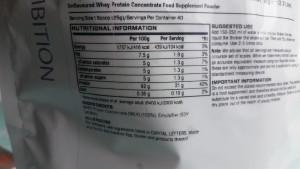 100% Proteína de soro de leite não desnaturada concentrada (de leite)