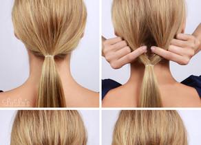 Penteado do dia: Roll up em 15 segundos