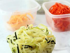 Como conservar esparguete de vegetais