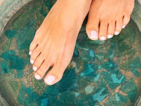 Receita caseira para pés de princesa / DIY princess feet soak