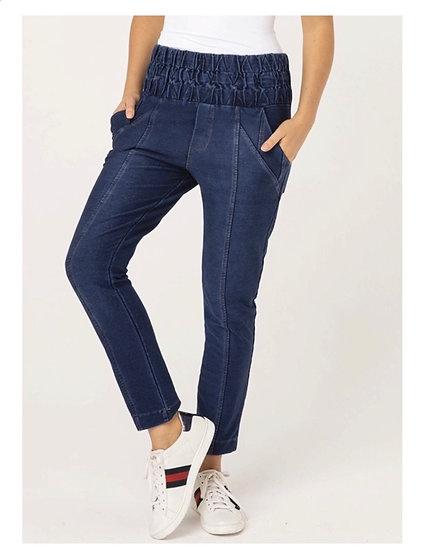 Calça em Malha Jeans Gabi