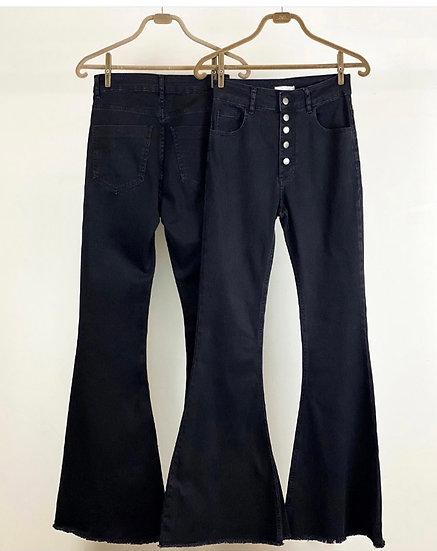 Calça Flare Jeans Fefa