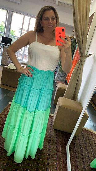 Vestido Tricolor Luana