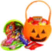 Pumkin/Jack o Lantern candy gift bag and gift bucket