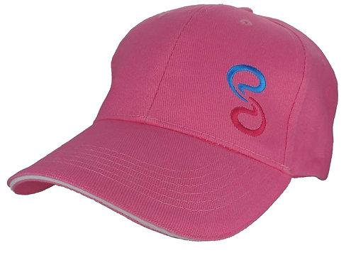Subtle Addition Logo Pink Baseball Cap