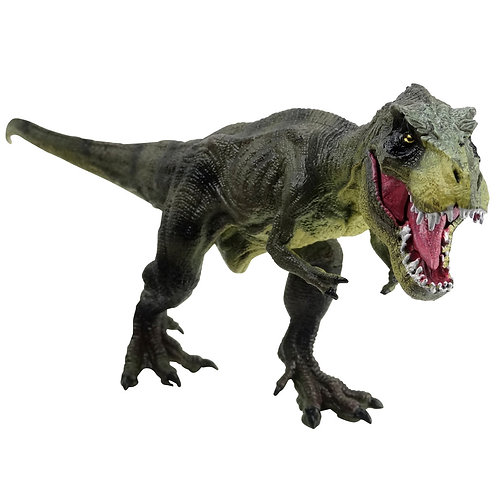 T-Rex Dinosaur Toy Action Figure and Dinosaur Bookmarks