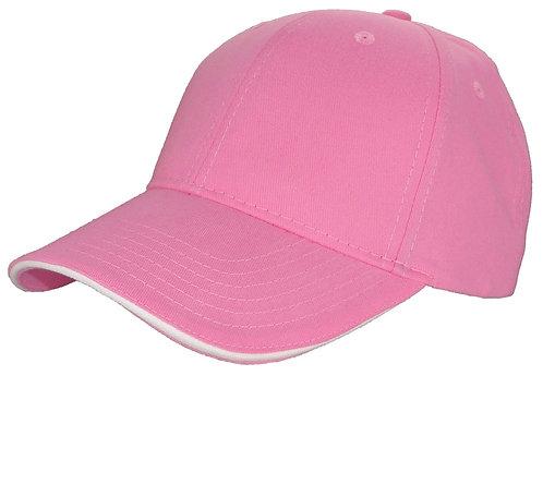 Subtle Addition Pink Baseball Cap