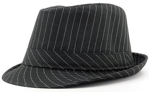 Fedora Hat Black Penstripe