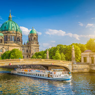 Beautiful view of historic Berlin Cathed