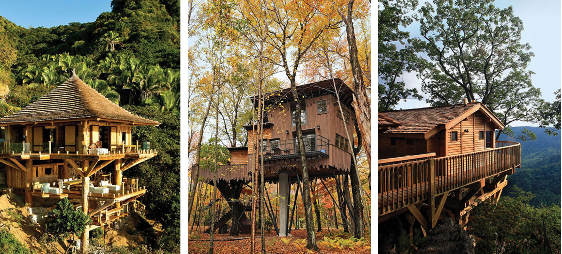 We're Obsessed With These Luxury Treehouse Hotels