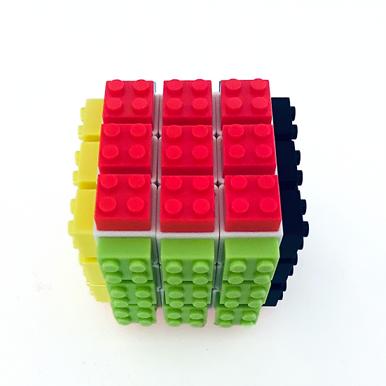 Puzzle Cube Block Puzzle Re-settable Pieces for Children and Adults