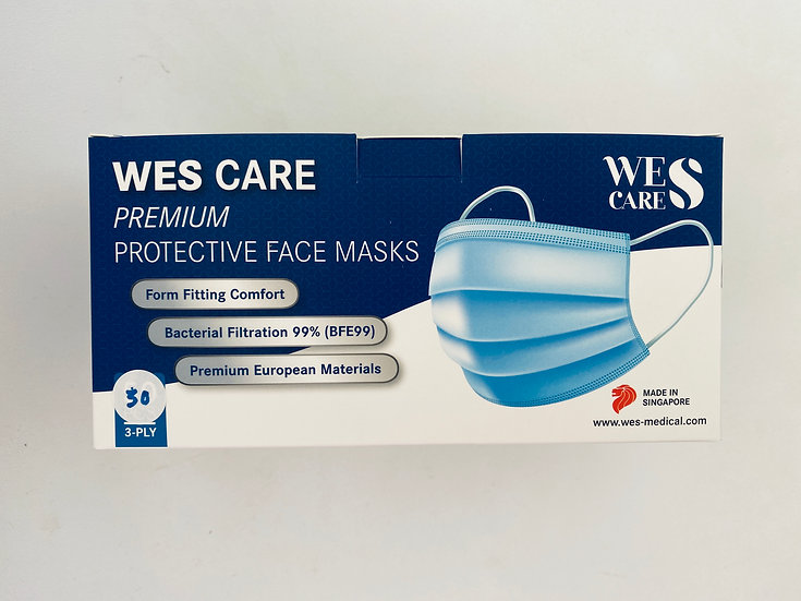 3 Ply Disposable Non-medical Face Masks for Adults and kids (30 pcs)