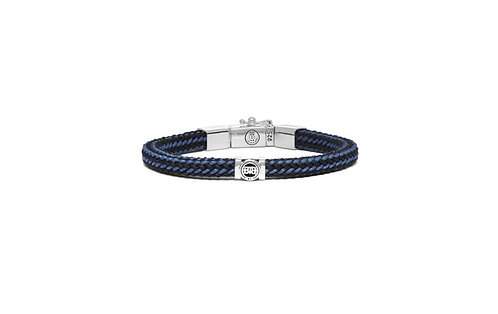 780MIXBU Buddha to Buddha Denise Cord bracelet Mix Blue