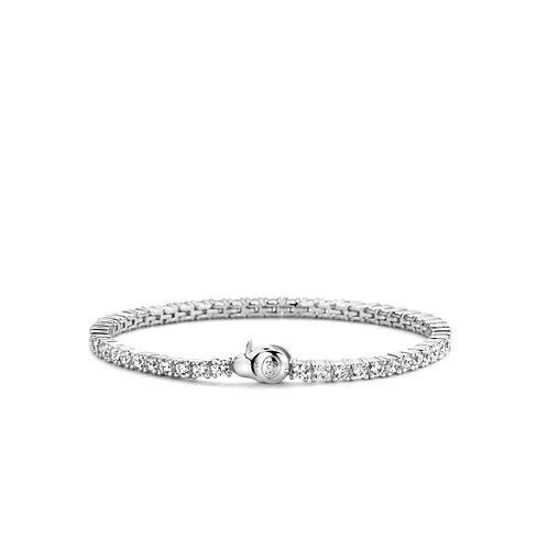 2951ZI Ti Sento zilveren armband met zirconia