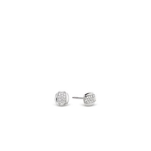 7799ZI Ti Sento zilveren oorstekers met zirconia