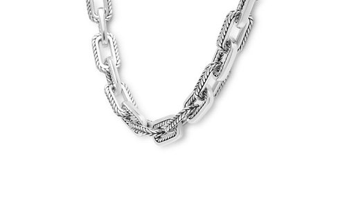 121-45   Buddha to Buddha barbara link small necklace silver
