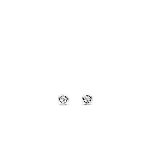 7867ZI Ti Sento zilveren oorstekers met zirconia