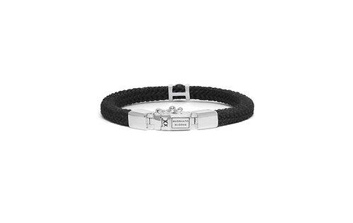 780BL Denise Cord black  Buddha to buddha armband