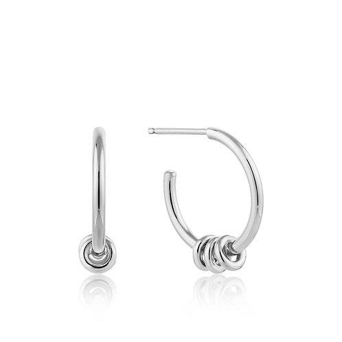 Ania Haie E002-05H Modern Hoop Earrings S