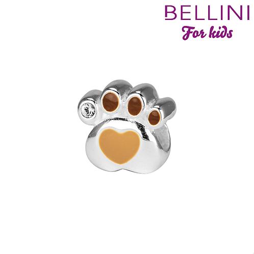567.479 Zilveren bedel hondenpoot