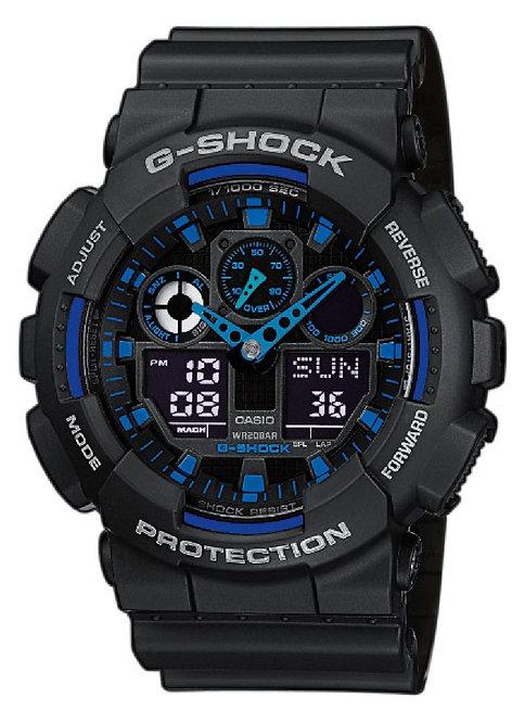 GA-100-1A2ER Casio G-Shock horloge