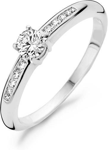 1155WZI Blush ring witgoud zirconia