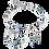Thumbnail: 4905-10-0705 Coeur de Lion collier Blue-Green