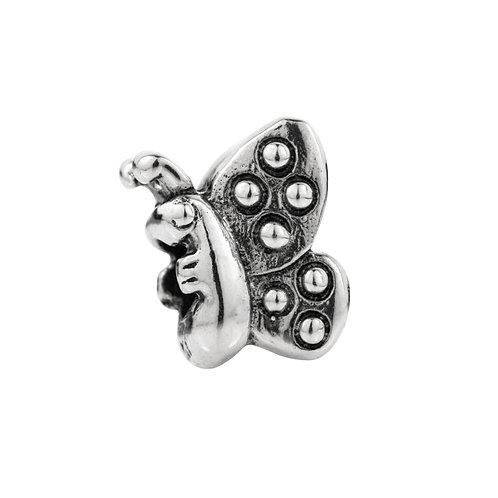 562430 Bellini zilveren bedel vlinder