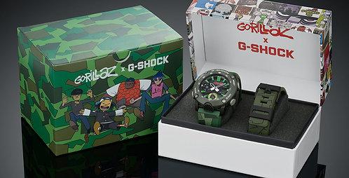 GA-2000GZ-3AER G-Shock Gorrillaz Limited Edition