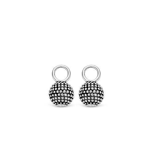 9162SB Ti Sento zilveren oorbedels
